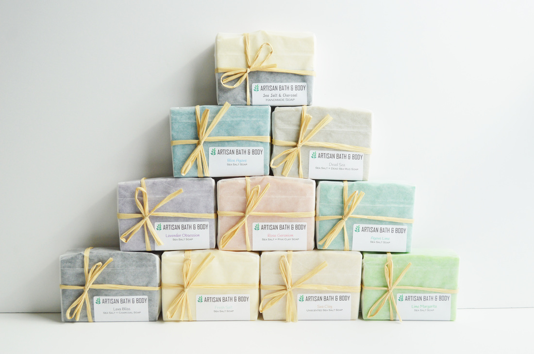 All Sea Salt Soap Bars